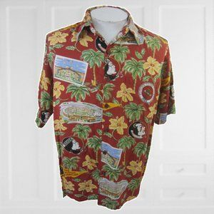 Reyn Spooner vtg Men Hawaiian shirt FSU Seminoles
